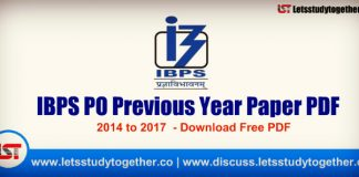 IBPS PO Previous Year Paper (2014-2017) - Download Free PDF
