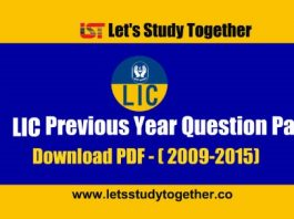 LIC HFL Associate and Assistant Managers Previous Year Question Paper - Download PDF