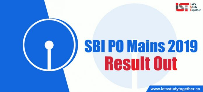 SBI PO Mains Result 2019 Out : Download Result PDF Here