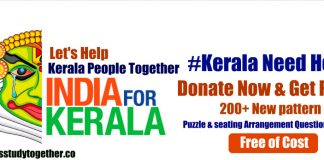 #Support the People of Kerala with Let's Study Together Family