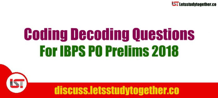 Coding Decoding Questions For IBPS PO