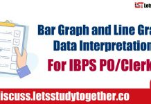 Bar Graph and Line Graph Data Interpretation For IBPS