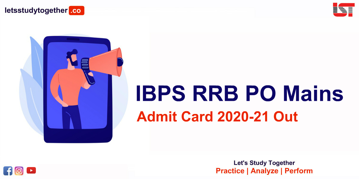 IBPS RRB PO Mains Admit Card 2020