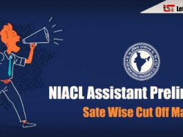 NIACL Assistant Prelims Cut Off Marks 2018 – Check Here