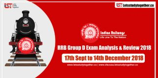 RRB Group D Exam Analysis & Reviews All Shifts – 17th Sept to 14th Dec. 2018