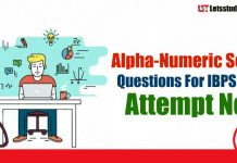 Alpha-Numeric Series Questions For IBPS Clerk Prelims