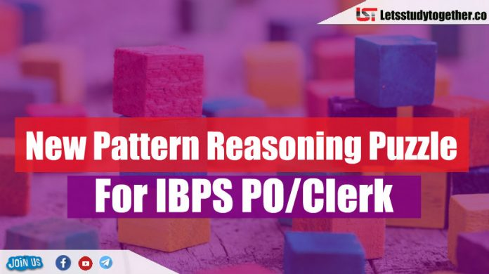 Memory Based New Pattern Puzzle For IBPS PO/Clerk 2018