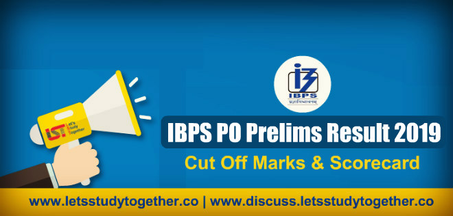 IBPS PO Prelims Result 2019 – Out Now