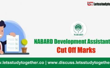 NABARD Development Assistant Expected Cut Off Marks 2018 – Check Here