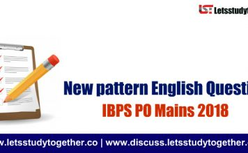 New pattern English Questions for IBPS PO Mains 2018 | Set – 9