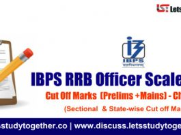 IBPS RRB Officer Scale-I Cut Off Marks 2018 (Prelims +Mains) – Check here