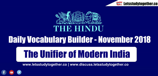 Daily Vocabulary Builder PDF BY LST - 3rd November 2018