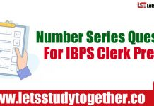 Number Series Questions Based on IBPS Clerk Prelims 2018 Set – 36