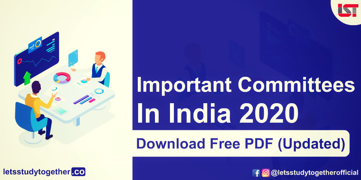 List of Important Committees for Bank Exams 2020 ( Updated) : Download In PDF