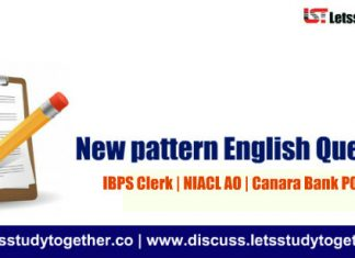 New pattern English Quiz Based on IBPS PO Prelims | Set – 10