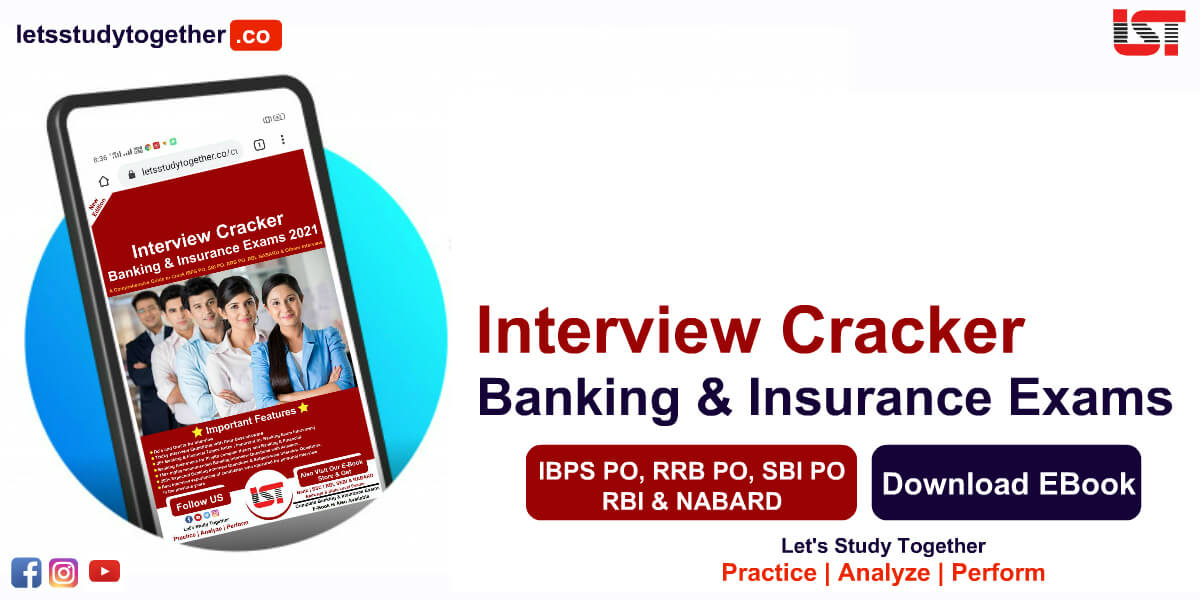 Interview Cracker Book for All Banking & Insurance Exams 2021 - Download Now