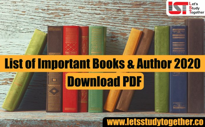 List of Important Books & Authors 2020