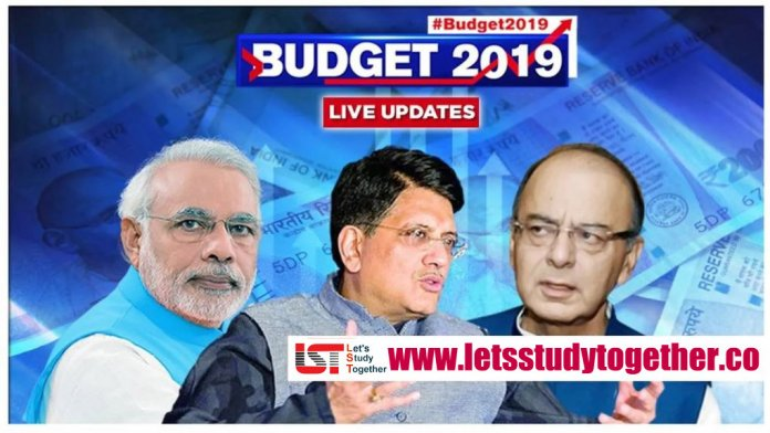 Union Budget Key Highlights from Budget 2019