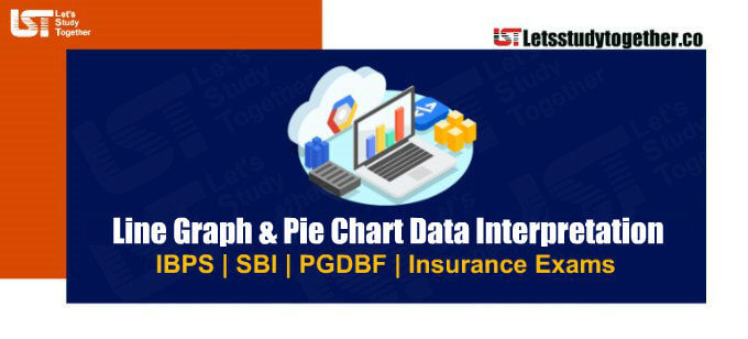 Line Graph & Pie Chart Data Interpretation For SBI PO Prelims Set – 100