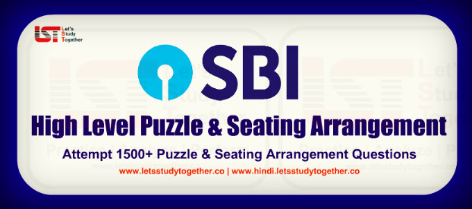 New Pattern Reasoning Puzzle for SBI PO Prelims 2019