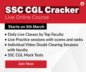 SSC CGL 2019 Cracker - Oliveboard