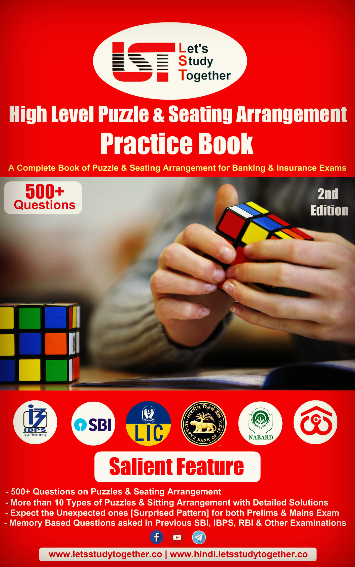 A Complete Book of Puzzle and Seating Arrangement for Banking & Insurance Exams 2019-20