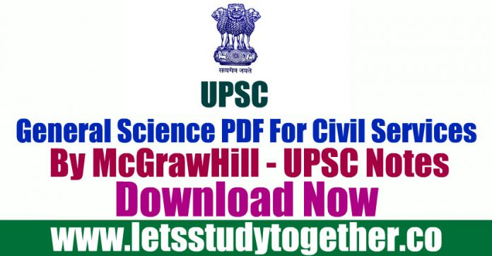 General Science PDF For Civil Services By McGrawHill - UPSC Notes