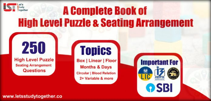 A Complete Book of Puzzle and Seating Arrangement For LIC AAO & SBI PO 2019 | Download PDF