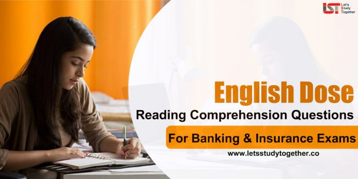 Reading Comprehension Questions for Banking Exams