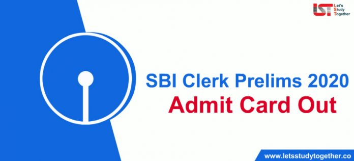 SBI Clerk Prelims 2020 Admit Card Out : Download Here