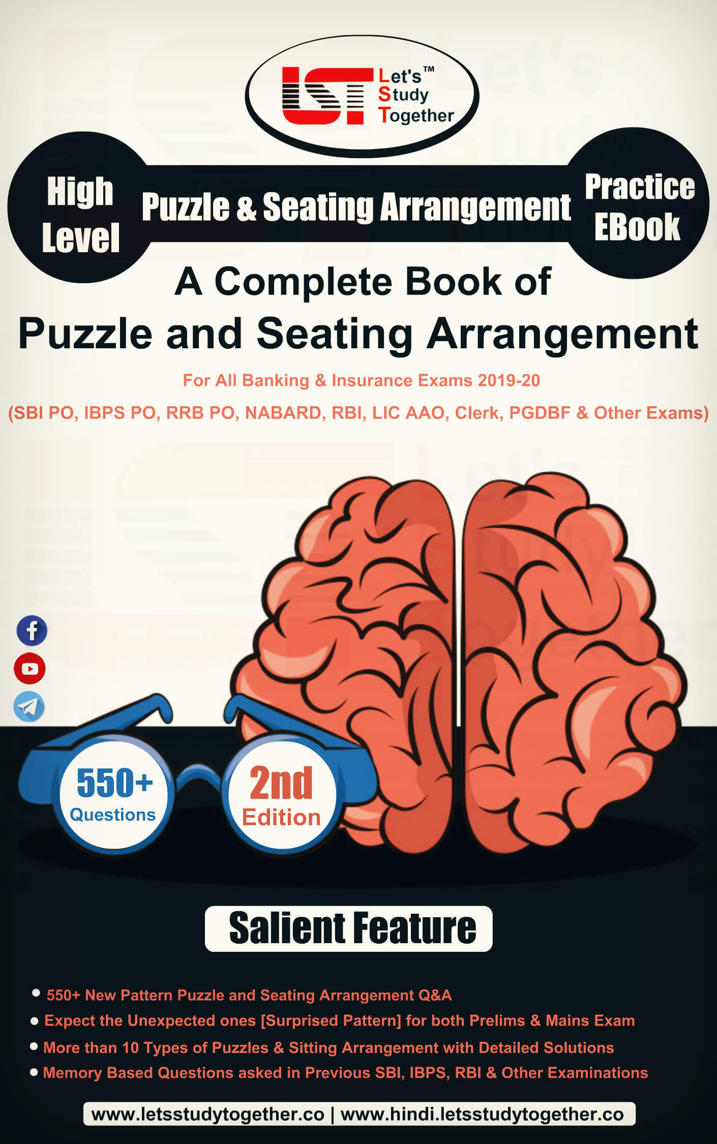 Best Book of Reasoning Puzzle and Seating Arrangement PDF