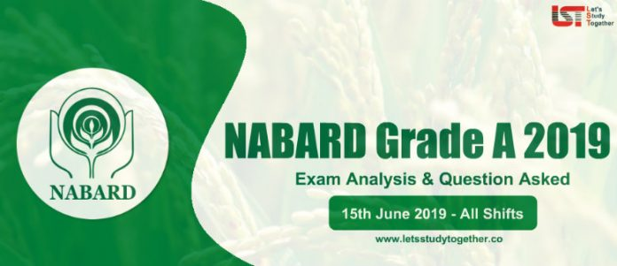NABARD Grade A Prelims Exam Analysis & Question Asked - 15th June 2019