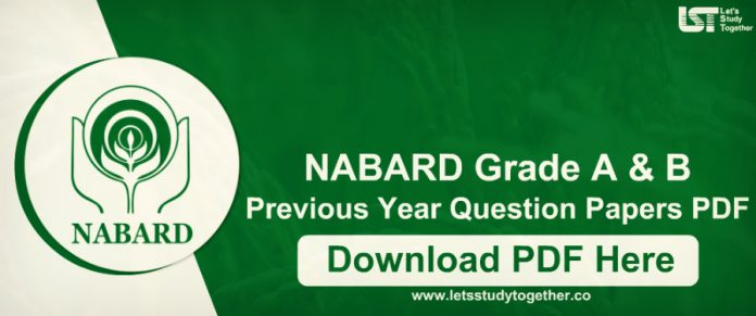 NABARD Grade A & B Previous Year Question Paper.