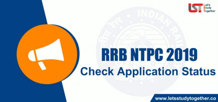 RRB NTPC Application Status 2019 Link Activated – Check Here