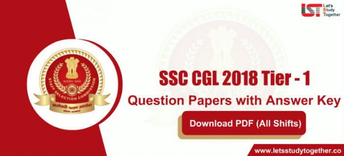SSC CGL 2018 Tier - 1 Question Papers PDF Download (All Shifts)