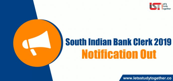 South Indian Bank Clerk Recruitment 2019 Out - Apply online for 385 Vacancies