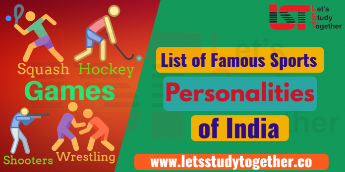 List of Famous Sports Personalities In India - Download PDF