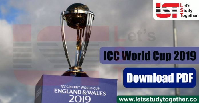 ICC Cricket World Cup 2019 Stats, Batsman, Bowling - Download PDF