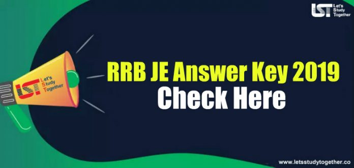 RRB JE(Junior Engineer) Answer Key 2019 - Check Here