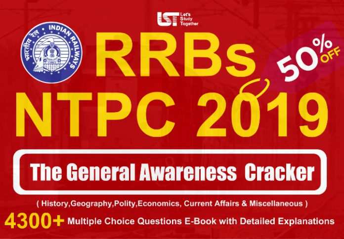 "RRB NTPC 2019 ""The General Awareness Cracker (History, Geography, Polity, Economics, Current Affairs & Miscellaneous)"" Book PDF – Download Now"