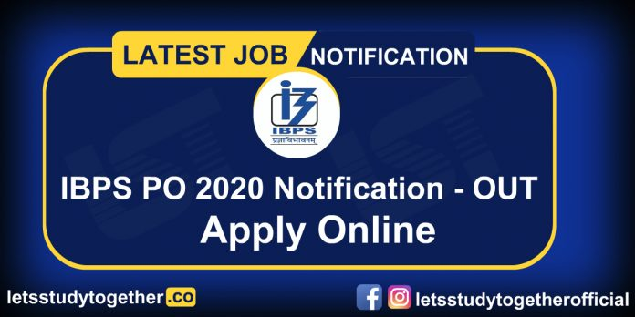 IBPS PO 2020 Recruitment Notification Out