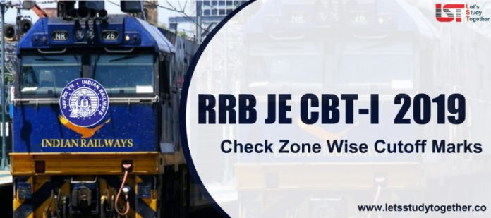 RRB JE Cut Off 2019 – Check Zone Wise Cut off Marks Here