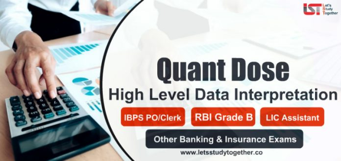 Pie Chart and Tabular Data Interpretation for IBPS PO, Clerk, RBI Grade B 2019
