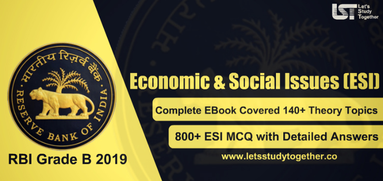 Economic & Social Issues (ESI) Book for RBI Grade B 2019 - Download Here