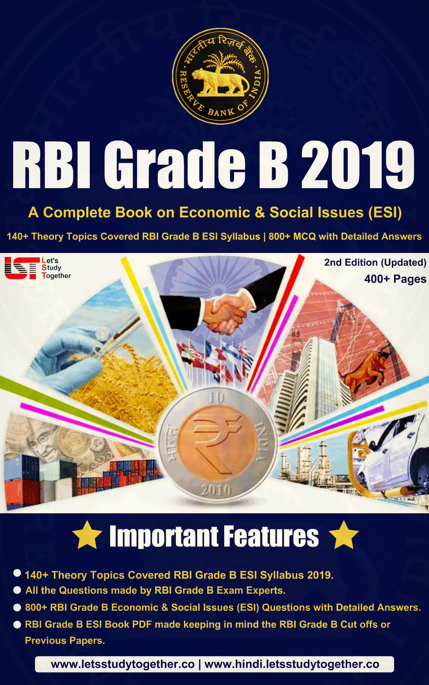 A Complete Book for RBI Grade B Economic & Social Issues (ESI)