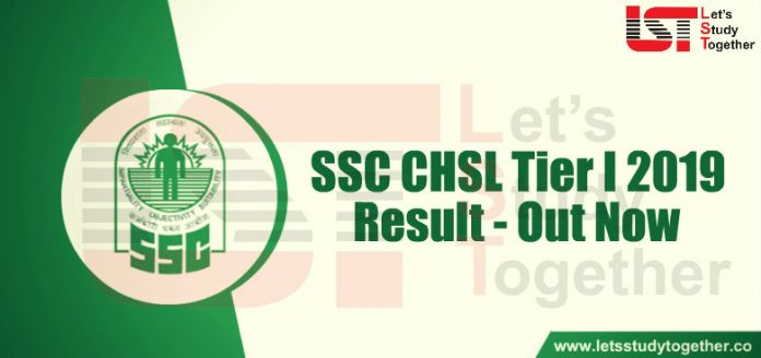 SSC CHSL Tier 1 Result 2019 Out Now - Check Here