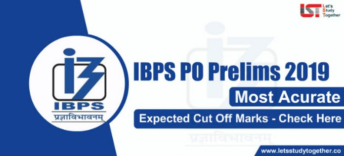 IBPS PO Prelims 2019 Expected Cut Off Marks - Check Here