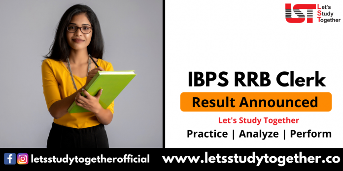 IBPS RRB Clerk Office Assistant Prelims Result 2021 : Check Here