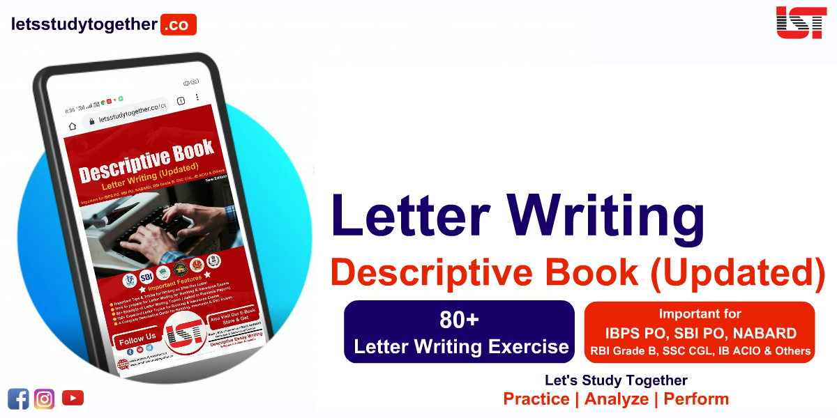 Descriptive Letter Writing Book for IBPS PO Mains 2020-21