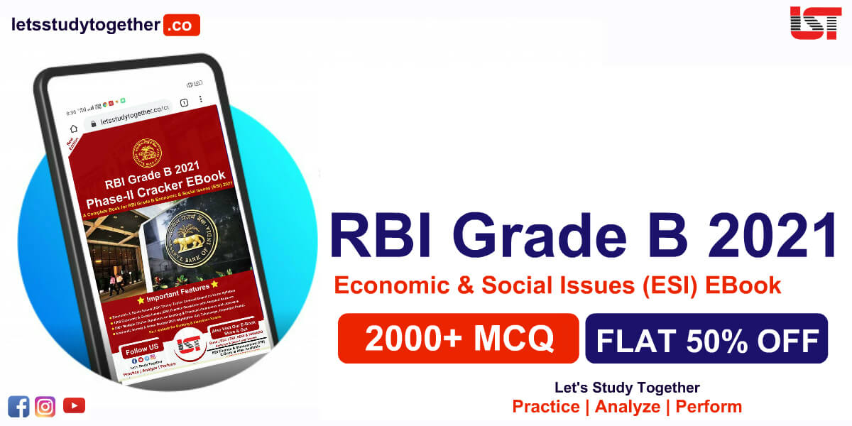 RBI Grade B Economic & Social Issues (ESI) Book 2021